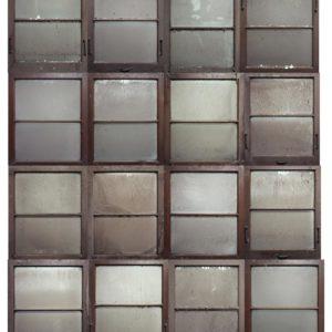 16 Fenêtres, 2008, impression à jet d'encre pigmentaire, 202 x 166 cm.