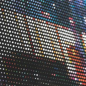 Fantasmagorie urbaine, 2013, huile sur toile, 183 x 305 cm