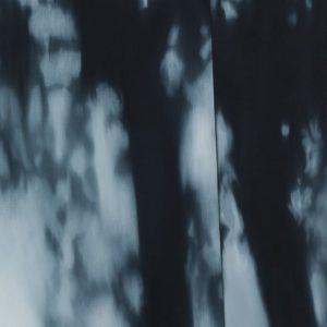Giardini, 2015, huile sur toile, 122 x 92 cm