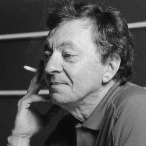 Roland Giguère, 1988, impression jet d'encre, 56 x 43 cm.