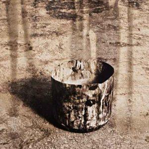 Contenant au sol, 1991, épreuve argentique, 1/1, 40 x 50 cm.