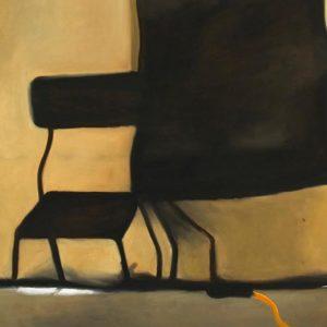Scène, 2007, huile sur toile, 152 x 183 cm.