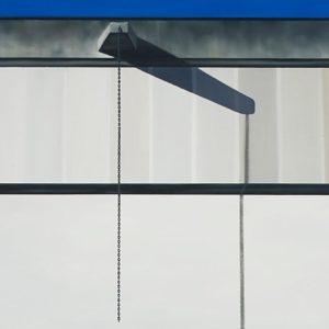 Arsenal, 2010, huile sur toile, 183 x 152 cm.