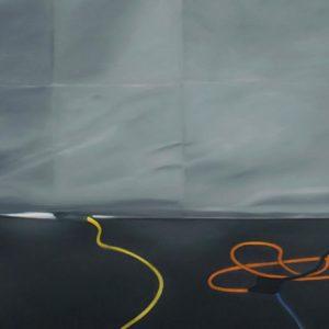 Quête (à Sebald), 2010, huile sur toile, 182 x 152 cm.