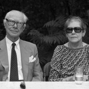 Phillip et Margaret Surrey, 1986, impression jet d'encre, 43 x 56 cm.