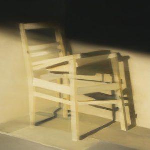 Siège, 2008, huile sur toile, 152 x 183 cm.